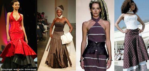 She Wears Shwe shwe: Africa Fashion Week